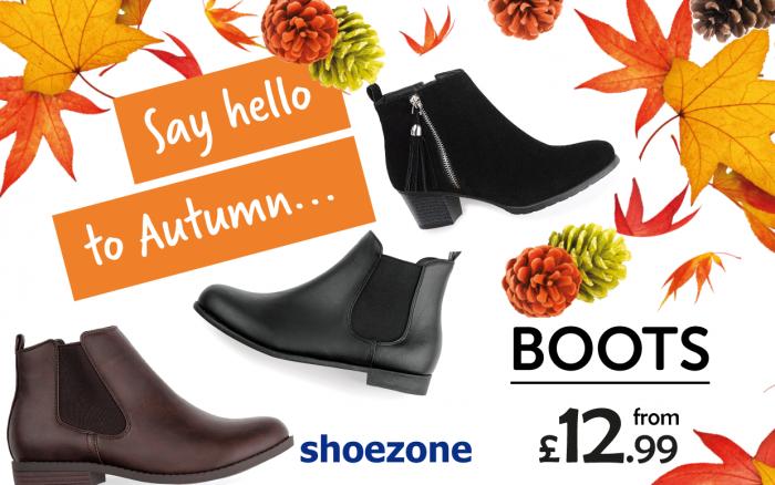 Autumn Boots Shoe Zone
